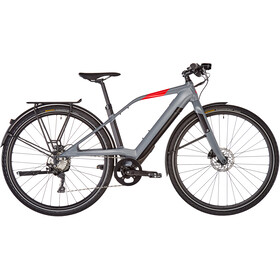 LOGO FS10 FAZUA Vélo électrique, dark grey/black/red